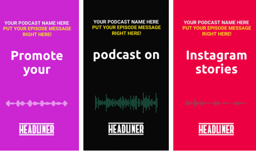 6 Instagram Story Templates for Podcasters - Blog